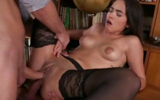 Ginebra Bellucci takes huge dicks in tight holes
