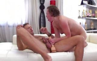Valentina R takes strong ramrod in tight ass hole